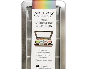 Ranger-  Mini Archival Ink Pads Storage Tin