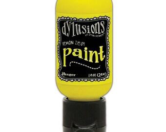 Ranger Ink - Dylusions Paints - Flip Cap Bottle -Lemon Zest