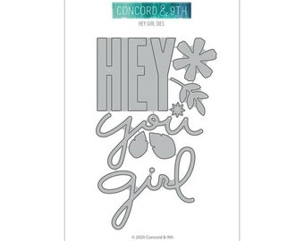 Concord & 9th - hey girl dies - preorder