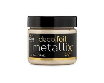 Therm O Web - iCraft - Deco Foil - Metallix Gel - 2 Ounces - Champagne Mist