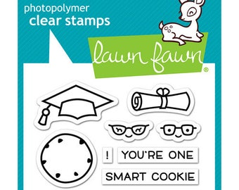 Lawn Fawn - Clear Photopolymer Stamps - Smart Cookie