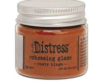Tim Holtz Distress Embossing Glaze-Rusty Hinge