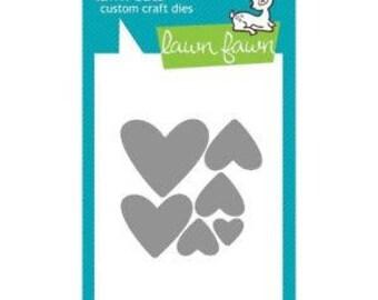 Lawn Fawn- Lawn Cuts- Hearts #LF492