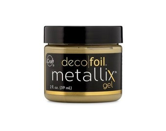 Therm O Web - iCraft - Deco Foil - Metallix Gel - 2 Ounces - Pure Gold