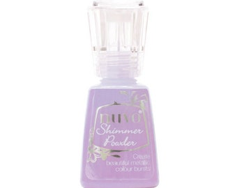 Nuvo - Dream In Colour Collection - Shimmer Powder - Lilac Waterfall