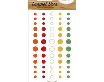 Carta Bella Paper - Fall Market Collection - Enamel Dots