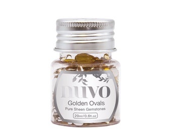 Nuvo - Pure Sheen Gemstones - Golden Ovals