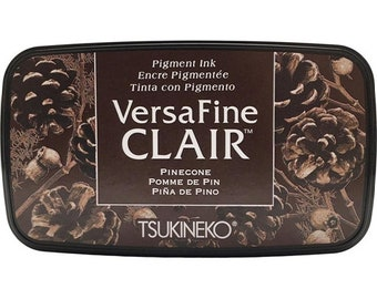 Tsukineko VersaFine Clair PINECONE Ink Pad