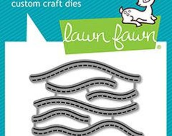 Lawn fawn-Sandy Beach Accents-Lawn Cut