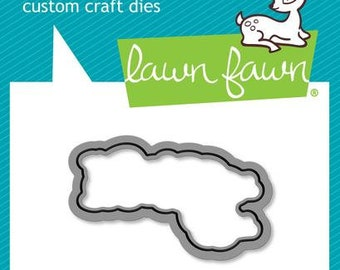 Lawn Fawn-Winter Alpaca-Thin Metal Die