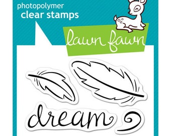 Lawn Fawn - Clear Photopolymer Stamps - Dream