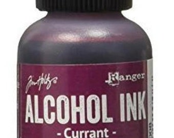 Tim Holtz - Alcohol Inks .5oz - Currant