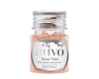 Nuvo - Pure Sheen Gemstones - Rose Triad