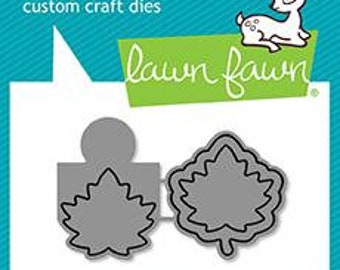 Lawn Fawn - Lawn Cuts - Dies - Reveal Wheel - Fall Leaf Add-On