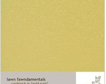 Lawn Fawn-Gold Rush Cardstock-8.5x11