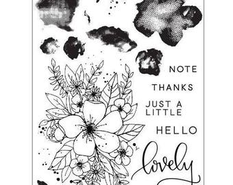 Concord and 9th - Clear Acrylic Stamps - Hello Lovely
