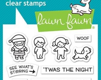 Lawn Fawn-Tiny Christmas-Clear Stamp Set