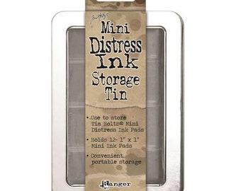 Ranger Ink - Tim Holtz - Mini Distress Ink Storage Tin