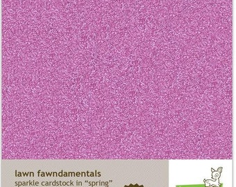 Lawn Fawn-Sparkle Cardstock- Spring