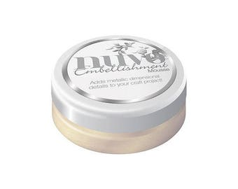 Tonic Studios - Nuvo Collection - Embellishment Mousse - Mother of Pearl