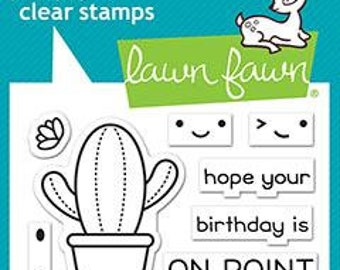 Lawn Fawn - year ten - clear stamp set - preorder