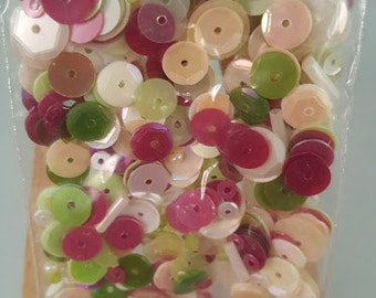 Design Creative Bling Sequin Mix Garden Splendor