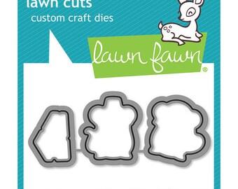 Lawn Fawn - Lawn Cuts - Dies - Thankful Mice