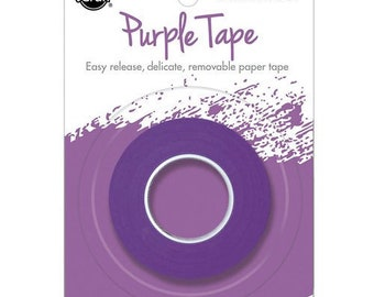 Therm O Web - iCraft - Purple Tape - Removable - 1.5 Inches x 15 Yards