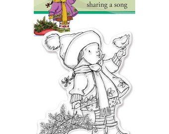 Penny Black - Clear Acrylic Stamps - Sharing a Song