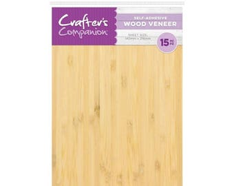 Crafter's Companion- WOOD VENEER -Craft Material Pack