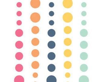 Echo Park - Summer Dreams Collection - Enamel Dots