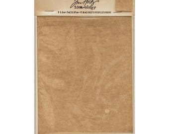 Advantus - Tim Holtz - Idea-ology Collection - Substrate Sheets