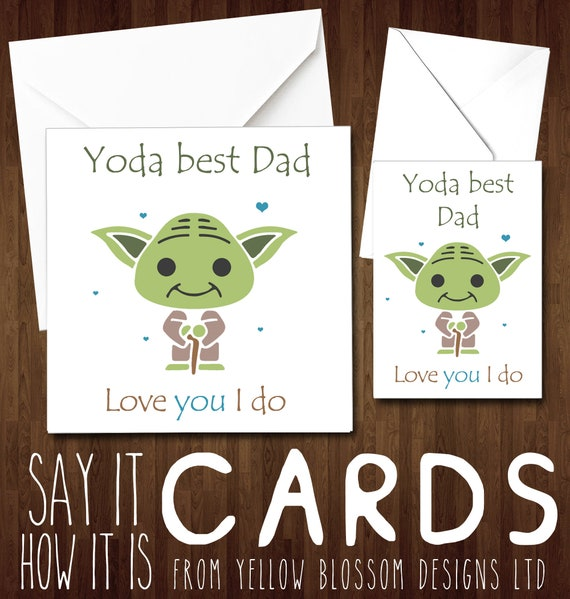 Novelty I Love You Dad Quality Greeting Card Birthday Fathers Day Daddy Father