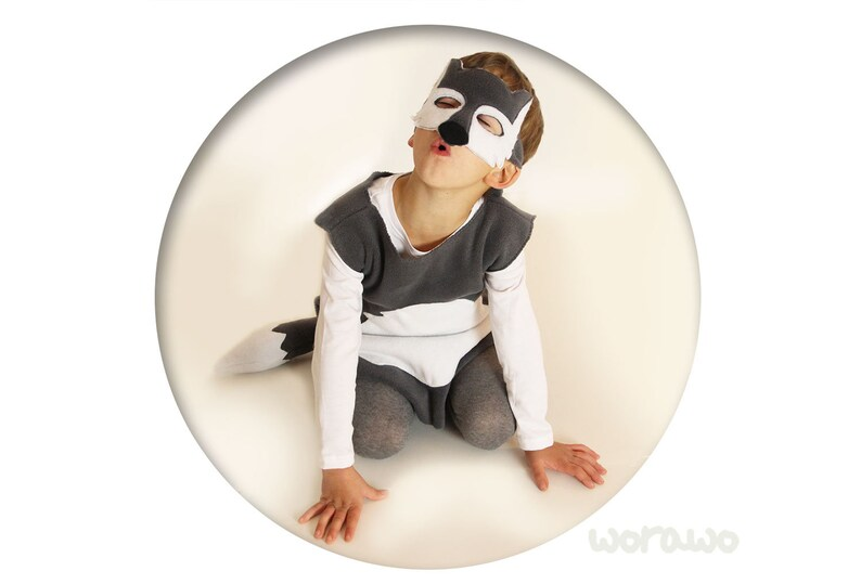 Wolf costume Gr.7480-146152