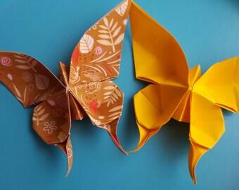 Origami farfalla grande