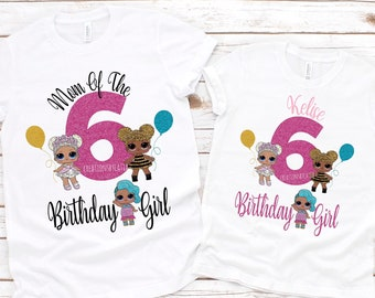LOL Dolls Inspired Birthday Shirt