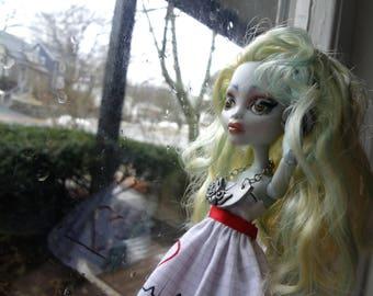 Ooak Monster High Lagoona Blue Doll