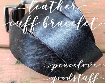Leather Bracelet-Boho Jewelry-Boho-Bohemian-Bracelet Femme-Custom-Bohemian Jewelry-Personalized-Leather-Bracelet-Leather Cuff Bracelet