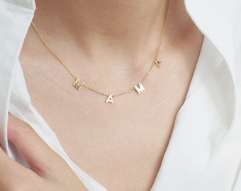 Silver Chains Gifts for Her 18K Gold Platted Personalized Gifts Necklace Mother/'s Day Gift Layering Jewelry Necklaces for women