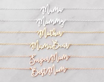 Mom Necklaces - Special Mother's Day Necklaces - Gifts for Moms - Mother's Day Gifts - #PN02F145M