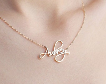 Custom name necklace etsy more colors custom name necklace aloadofball Gallery