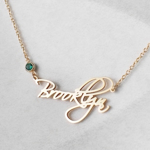 Mother/'s Day Gift \u2022 2 Name Custom Necklace \u2022 Quality Name Necklace \u2022 Custom Name Necklace Gold \u2022 Personalized Necklace for Mom \u2022Gift for Mom