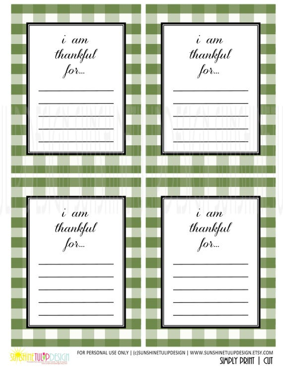 It's just an image of I Am Thankful for Printable for first