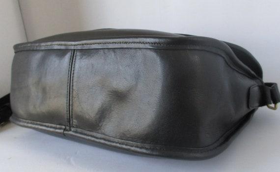 Coach Vintage Bonnie Cashin Black Classic Flap Pu… - image 8