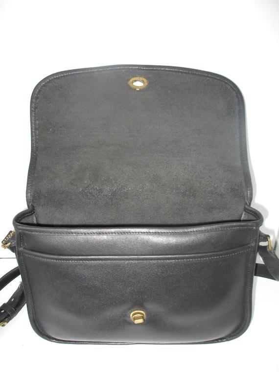 Coach Vintage Bonnie Cashin Black Classic Flap Pu… - image 2