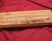0370 Laminated Cribbage B...