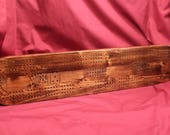 0381 Cribbage Board...