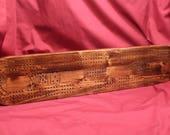 0381 Cribbage Board...