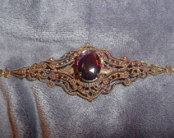 Victorian Filigree Pin