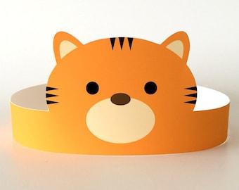 5224b869582 Tiger Costume Mask Toddler Kids Adult